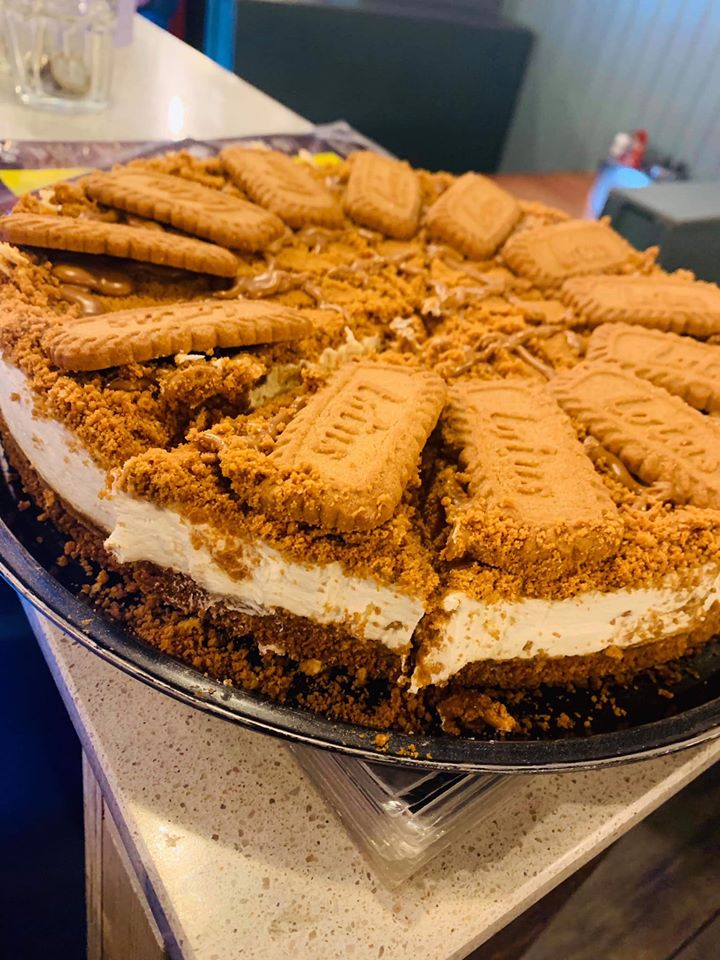 Lotus Biscoff Chees Cake